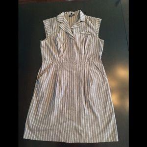 AGB Pinstripe Dress